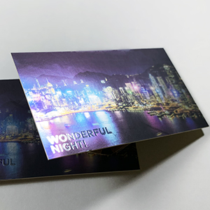 Cold Foil Silver 500gsm Card