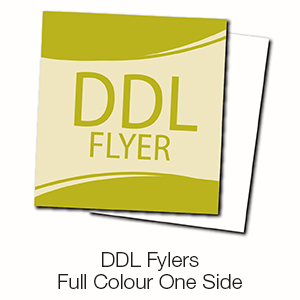 DDL Flyers - Full Colour One Side